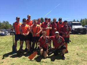 Our men paddled with Hawkesbury River Dragons and came away with bronze.